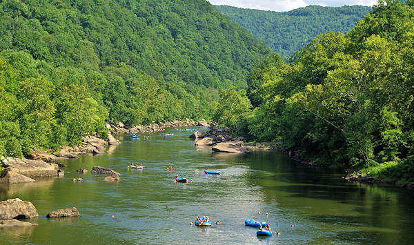 Whitewater Rafting WV