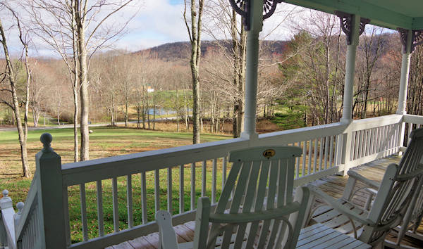 Cabin Rental Porch WV